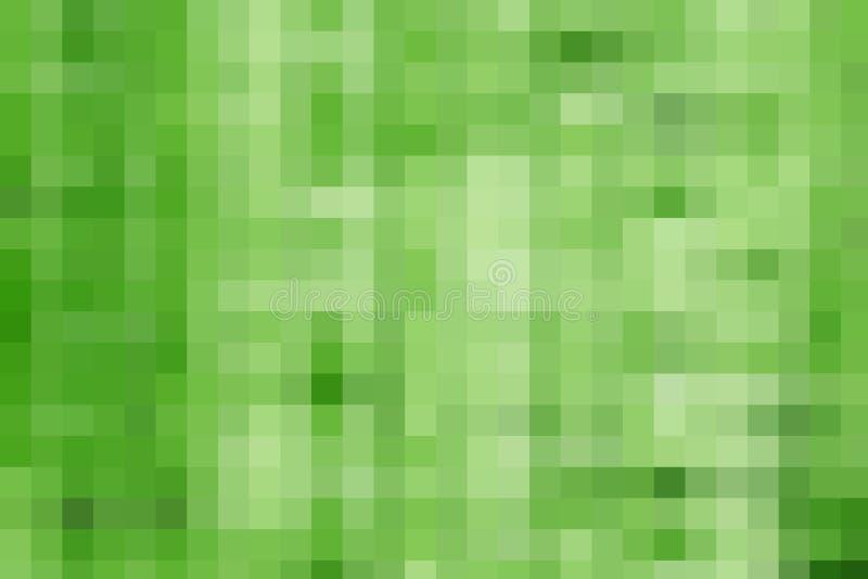 背景绿色象素 免版税库存照片