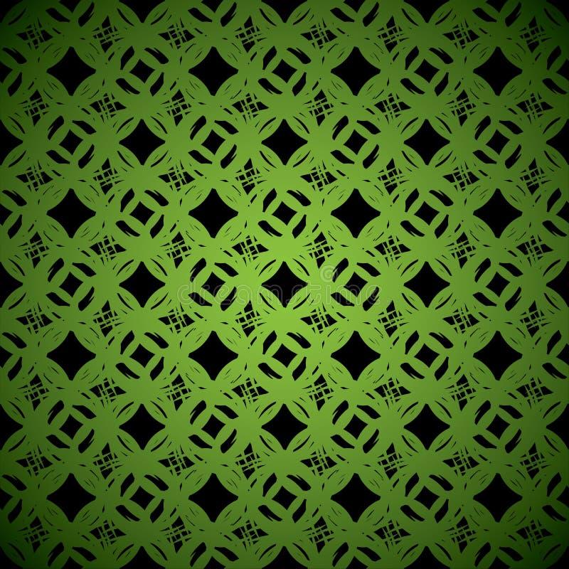 背景绿色连结 皇族释放例证