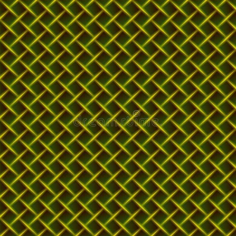 背景网电汇黄色 向量例证