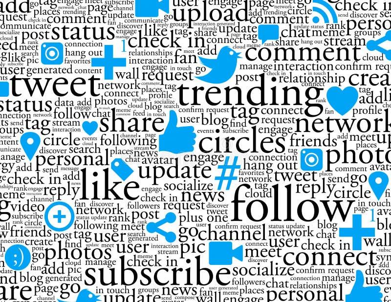 背景网络连接社交 向量例证