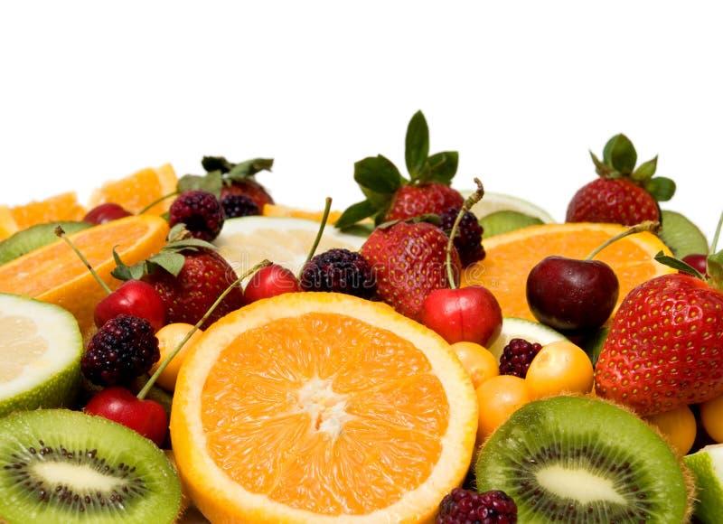 背景美丽的果子 库存图片