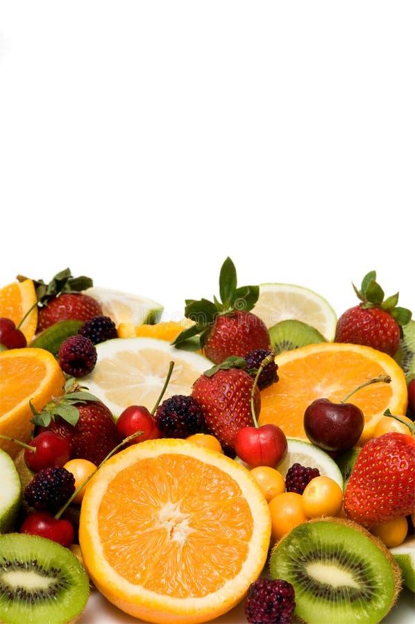 背景美丽的果子 免版税库存照片