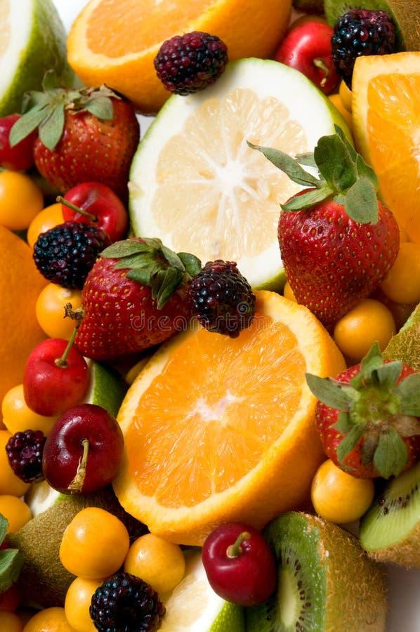 背景美丽的果子 免版税库存图片
