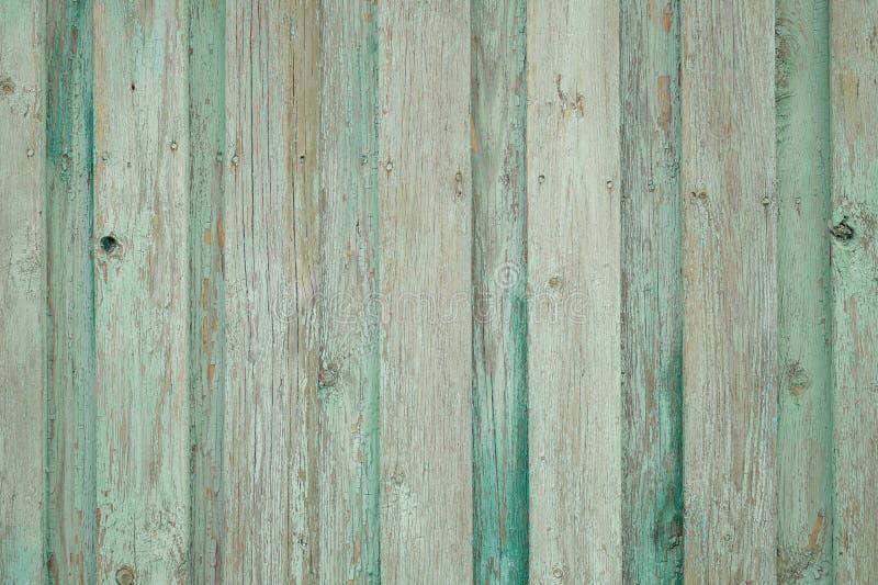 背景老木篱芭 绿色背景 免版税库存照片