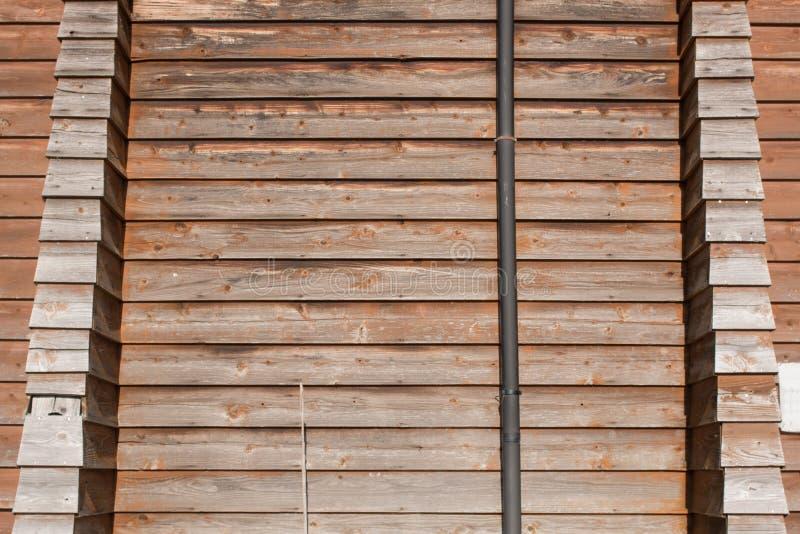 背景老杉木木墙壁 库存照片