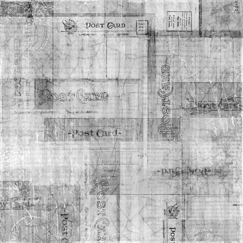 背景脏的明信片纹理 库存照片