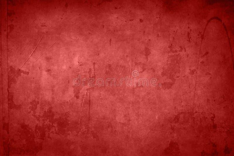 背景脏的红色 库存图片