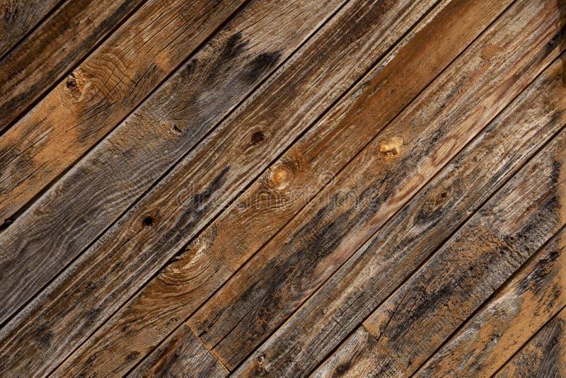背景自然老板条被风化的木 免版税库存图片