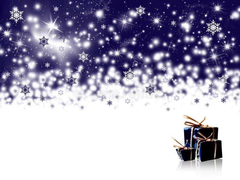 背景节假日冬天 皇族释放例证