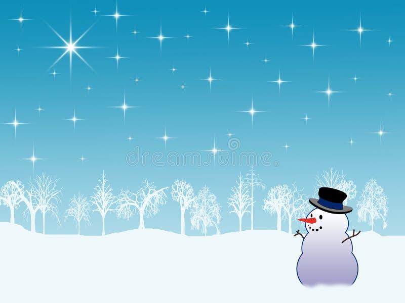 背景节假日冬天 向量例证