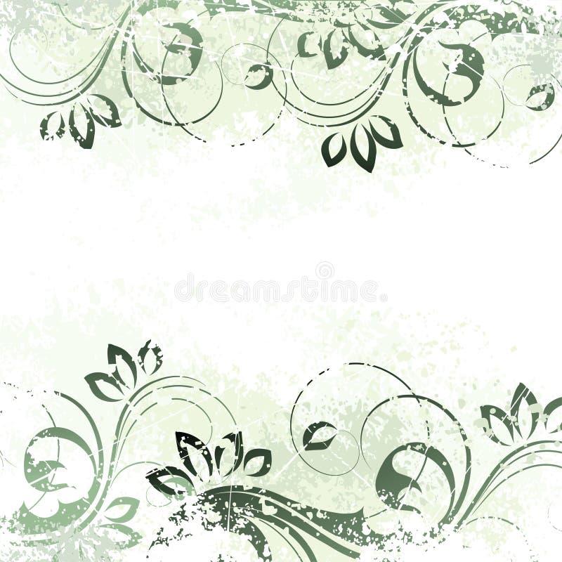 背景花卉主题 向量例证