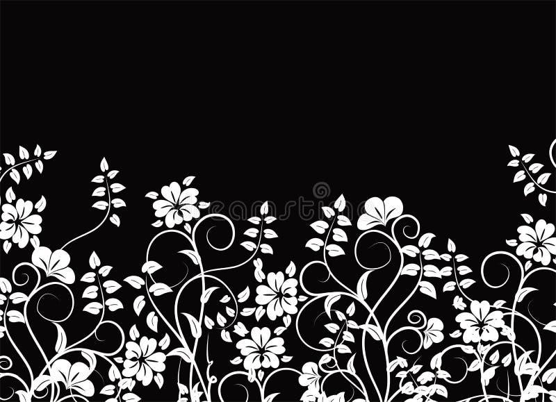 背景花卉向量 向量例证