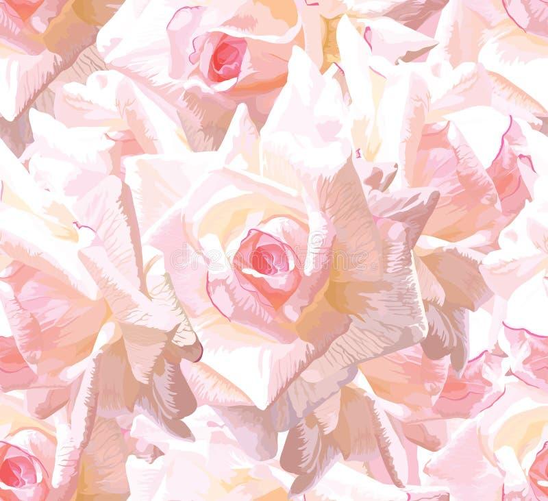 背景花卉无缝 库存图片