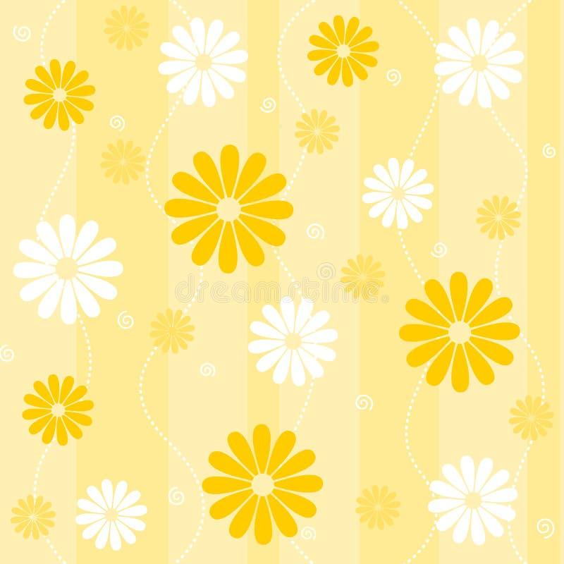 背景花卉无缝 图库摄影