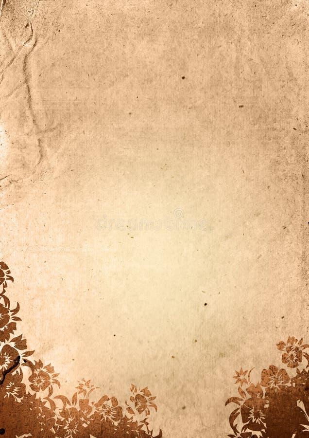 背景花卉样式 皇族释放例证
