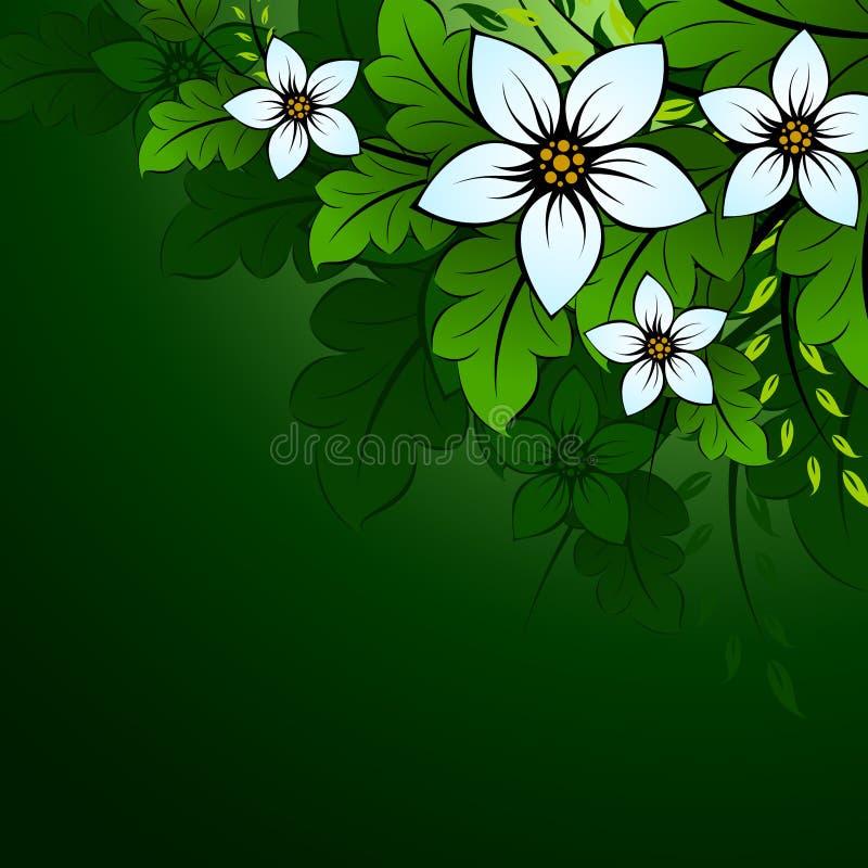 背景花卉自然 皇族释放例证