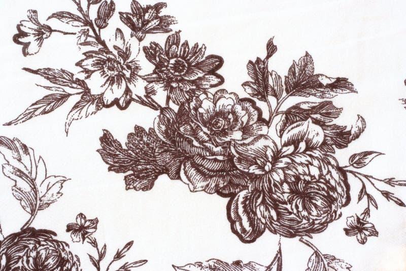 背景花卉葡萄酒 皇族释放例证