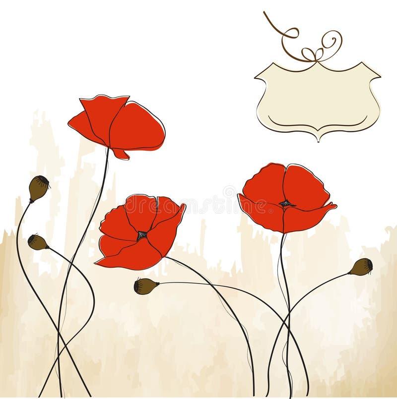 Download 背景花卉鸦片 库存例证. 插画 包括有 消息, 问候, 看板卡, 鸦片, 艺术性, 背包, 要素, 粉红色 - 22351335