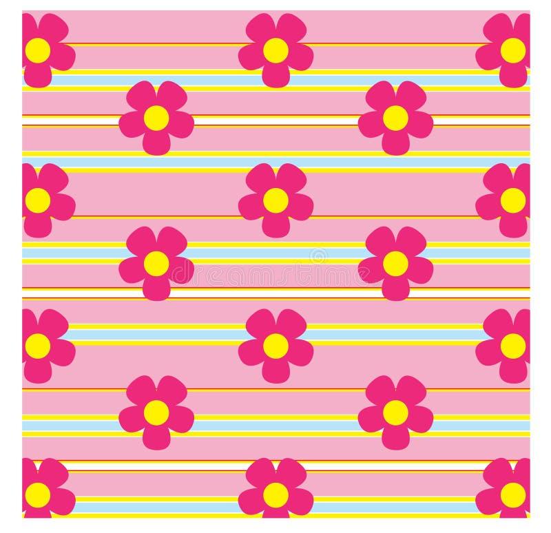背景花粉红色 皇族释放例证