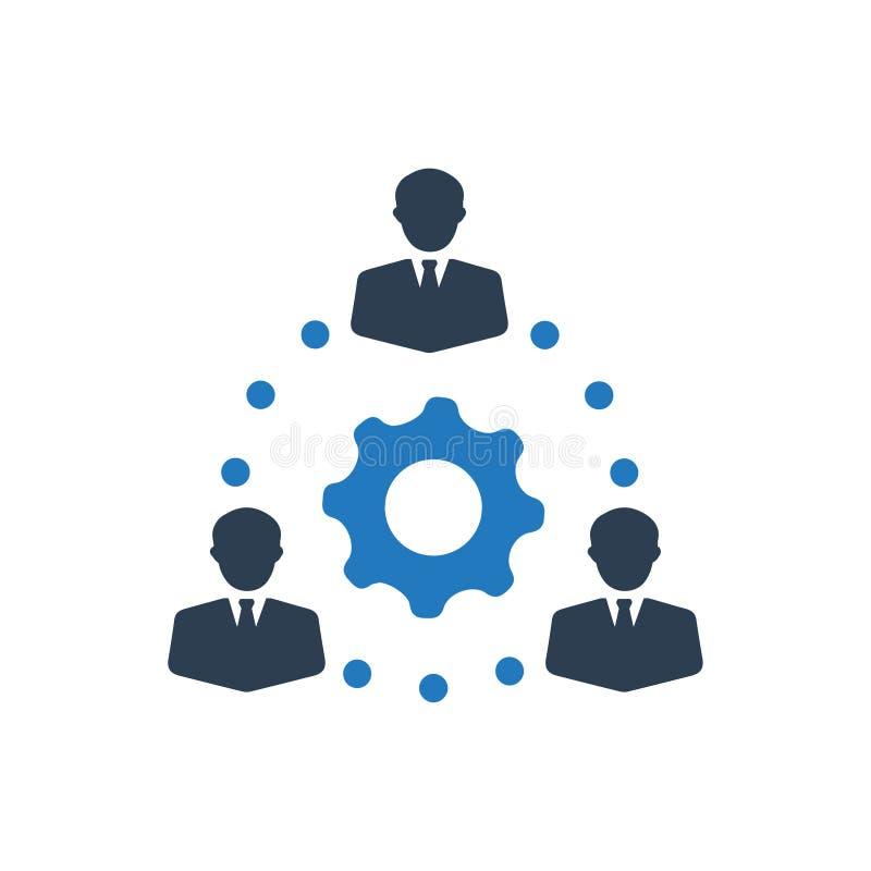 背景营业通讯社区公司人群雇员eps10平等友谊图象图标网络人员无缝的社会人员小组向量工作工作者 向量例证