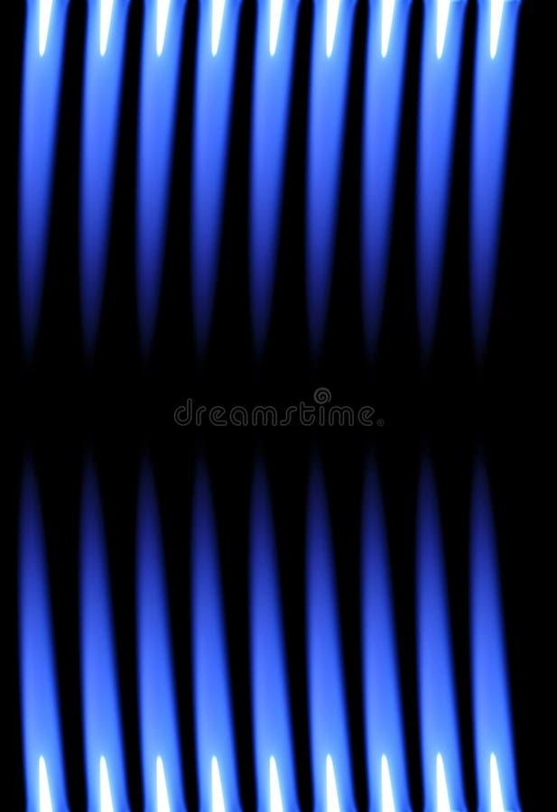 背景蓝焰丙烷火炬 图库摄影