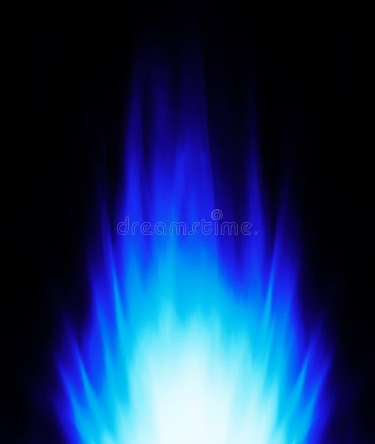 背景蓝焰 皇族释放例证