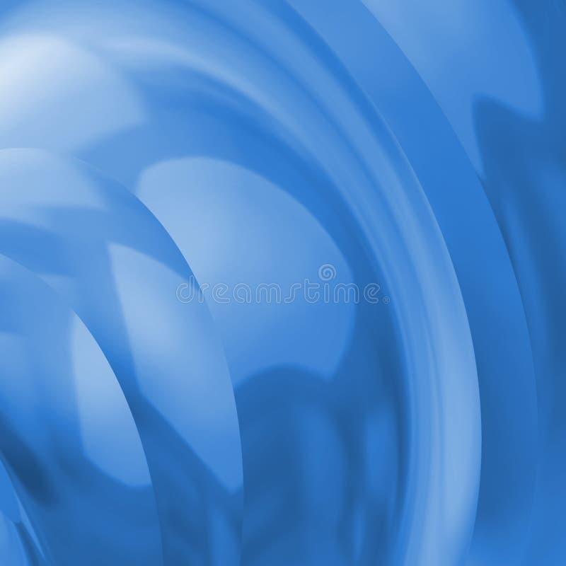 背景蓝色反射性 向量例证