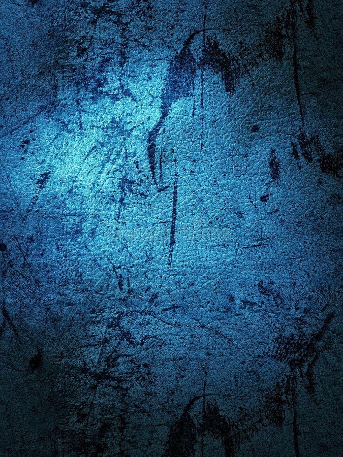 背景蓝色墙壁纹理 免版税库存照片