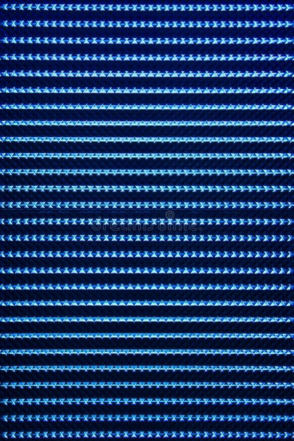 背景蓝色导致的光 免版税库存照片