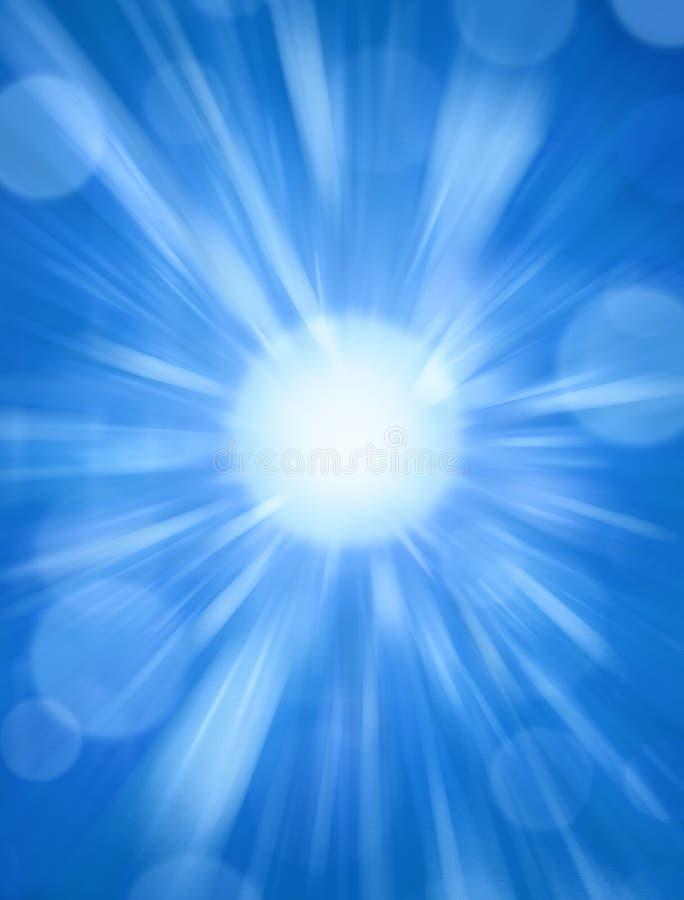 背景蓝色星期日 皇族释放例证