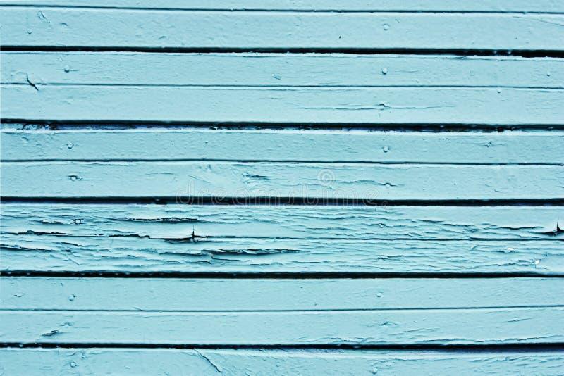 背景蓝色木 库存图片
