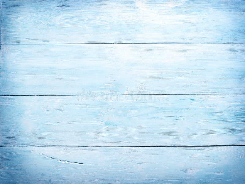 背景蓝色木 图库摄影