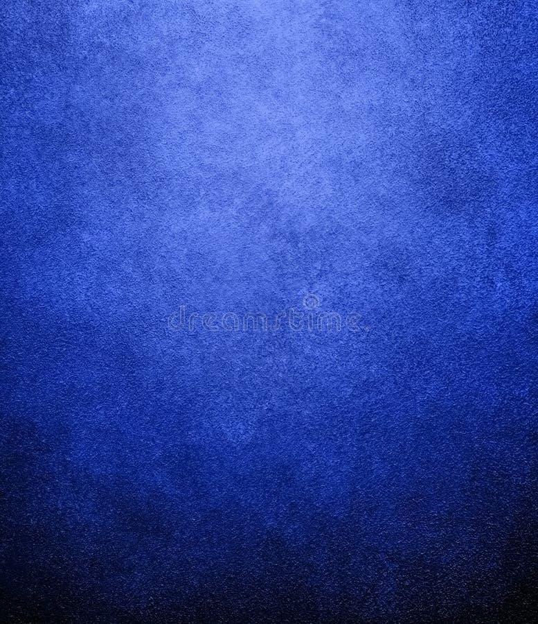 背景蓝色油漆 库存例证