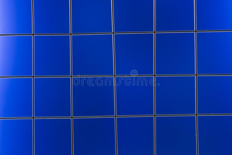 背景蓝色滤网金属 向量例证