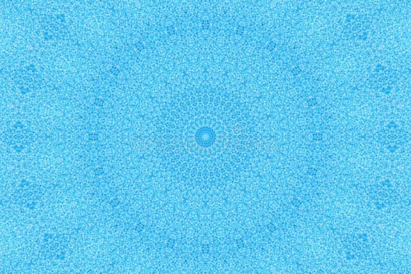 背景蓝色珍珠 库存图片