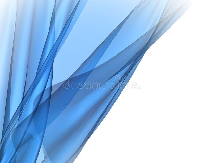 背景蓝色织品 库存例证