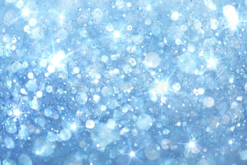 背景蓝色能源光 库存照片