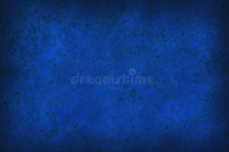 背景蓝色脏的呈杂色的纹理 库存图片