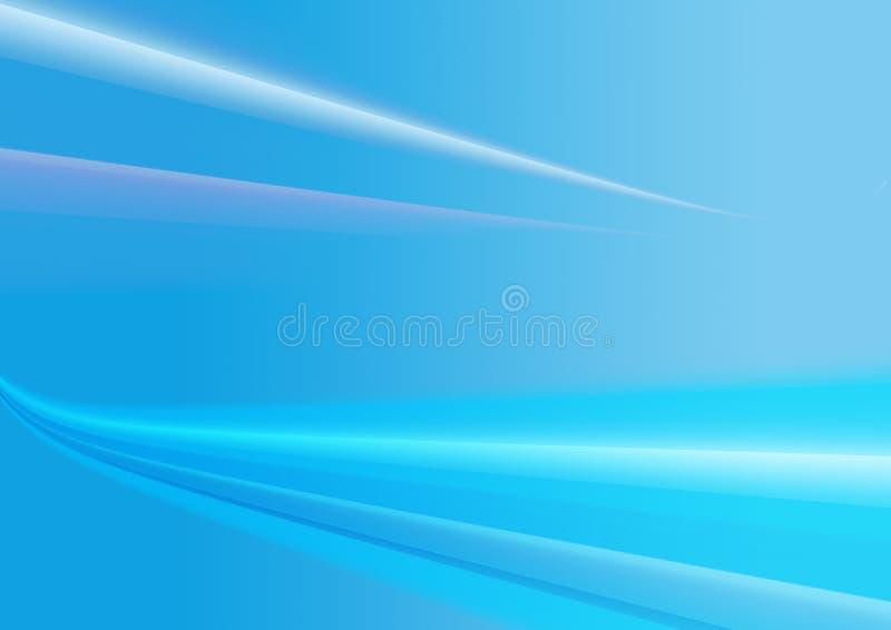 背景蓝色装饰 库存例证