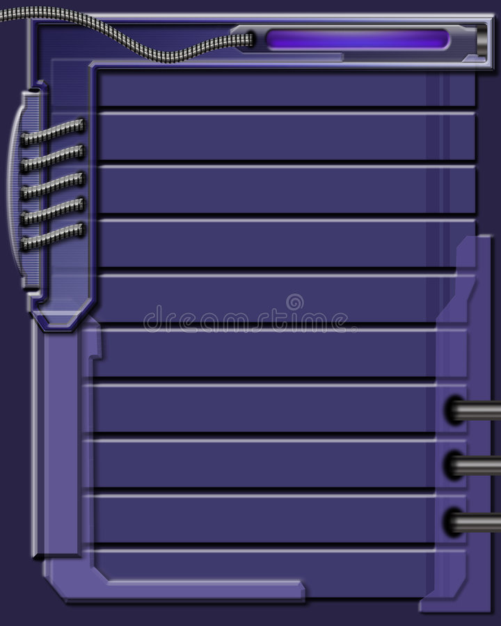 背景蓝色设计 库存例证