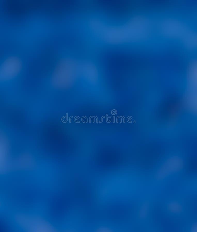 背景蓝色迷离 库存图片