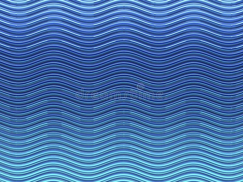 背景蓝色通知 向量例证