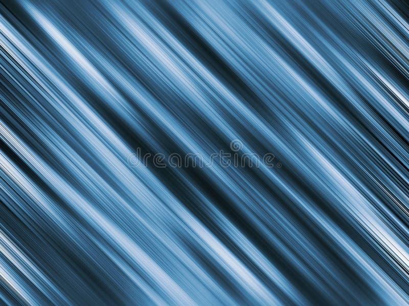 背景蓝色钢 库存例证