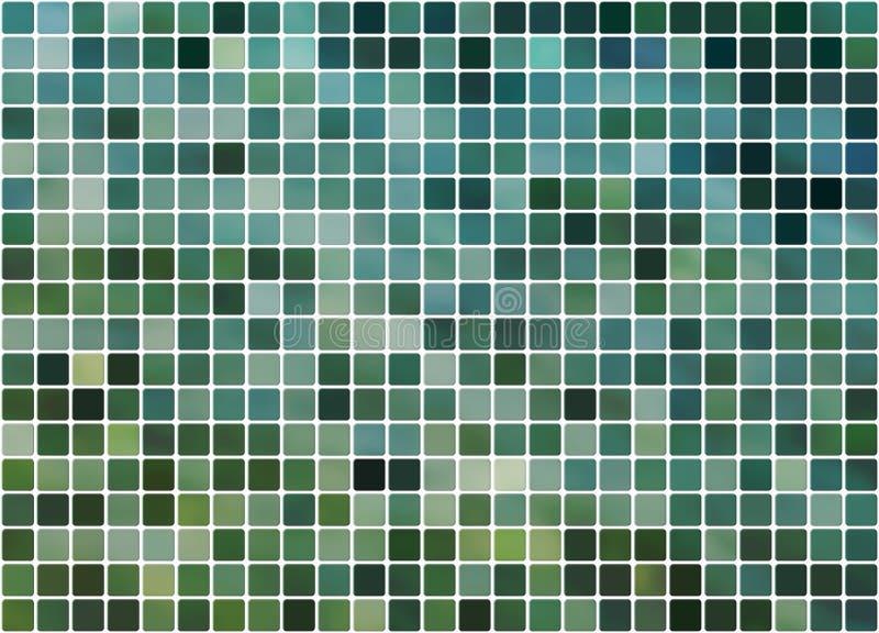 背景蓝色铺磁砖的绿松石 免版税库存照片