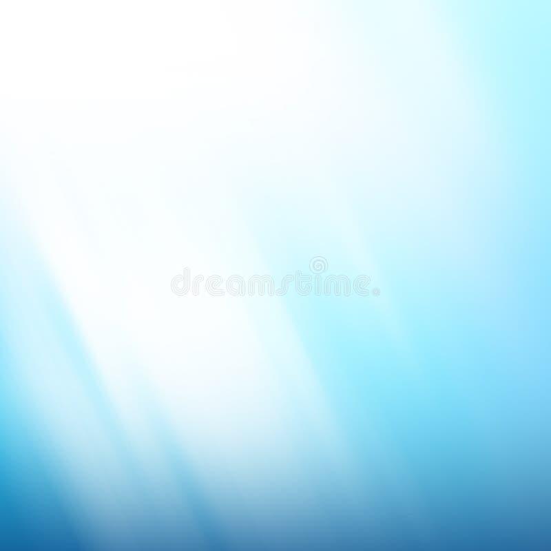 背景蓝色镇静平静 向量例证