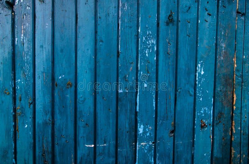 背景蓝色面板纹理垂直木头 库存图片