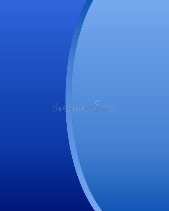 背景蓝色 皇族释放例证