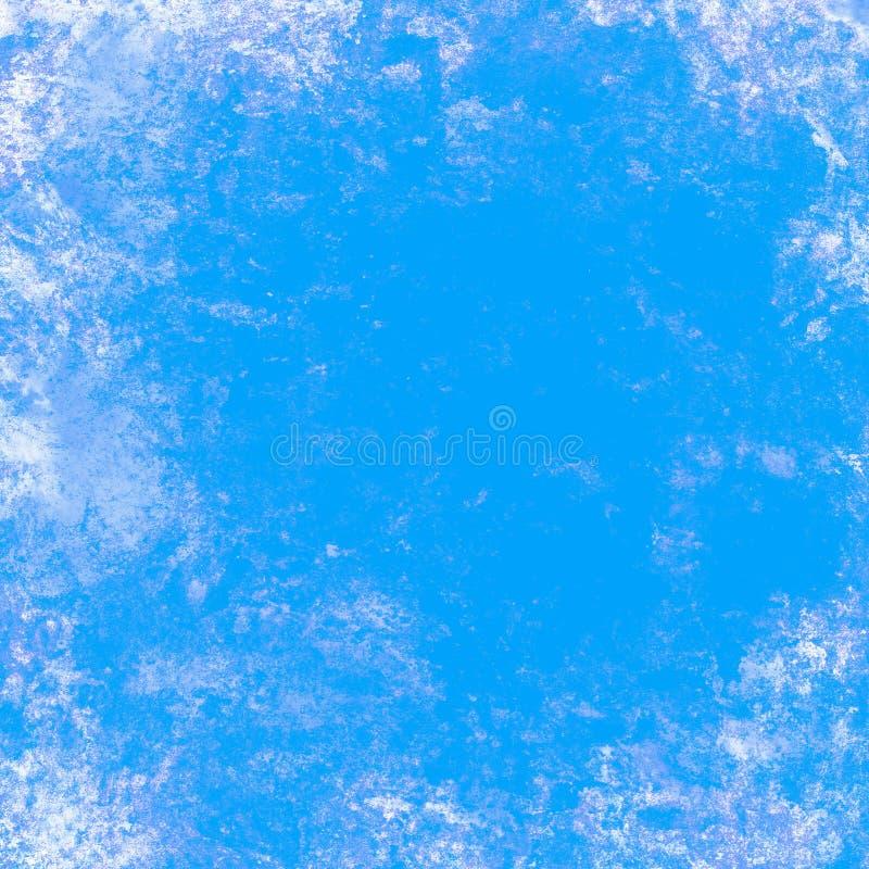 背景蓝色grunge例证向量 库存例证