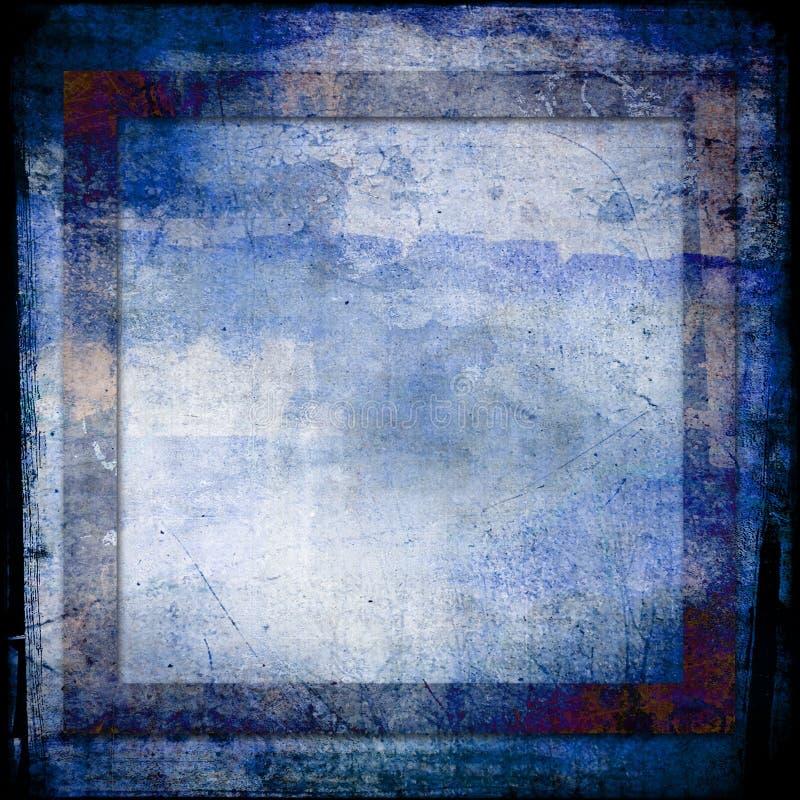 背景蓝色grunge颜色 免版税库存图片