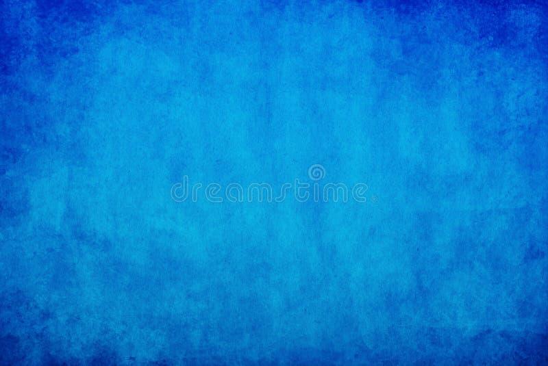 背景蓝色grunge 库存例证